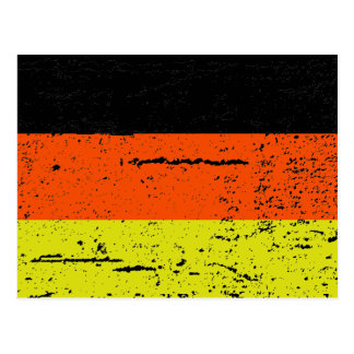 FLAG OF GERMANY POSTCARD
