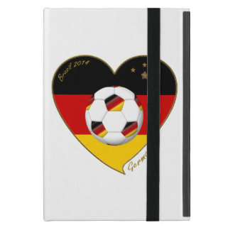 Flag of GERMANY SOCCER of national team 2014 Cover For iPad Mini