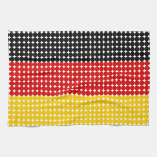 Flag of Germany Tea Towels