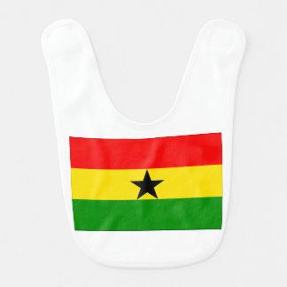 Flag of Ghana Baby Bibs