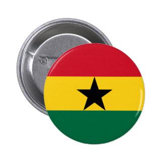 Flag of Ghana Pinback Button