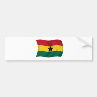 Flag of Ghana Bumper Sticker