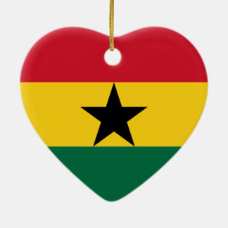 Flag of Ghana Christmas Ornament