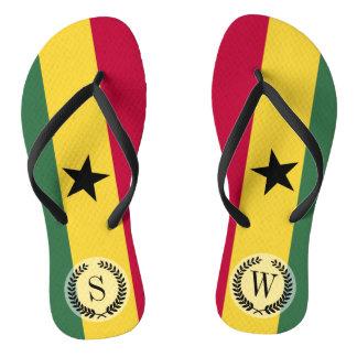 Flag of Ghana Flip Flops