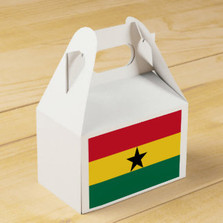 Flag of Ghana - Ghanaian Flag - African Flag Favour Box