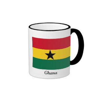 Flag of Ghana Coffee Mugs