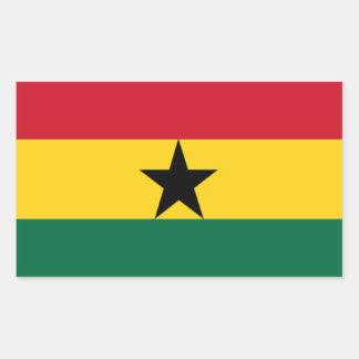 Flag of Ghana Rectangular Sticker