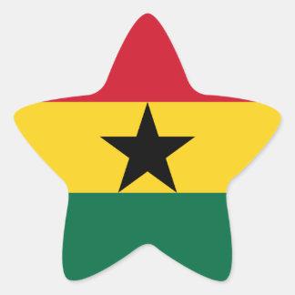Flag of Ghana Sticker (Star)