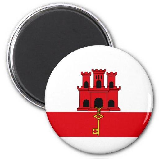 Flag of Gibraltar Refrigerator Magnets