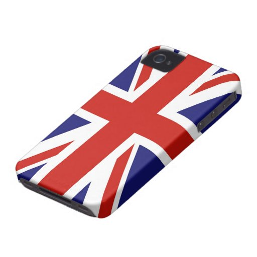 Flag of Great Britain iPhone 4/4S Cases iPhone 4 Case-Mate Case