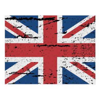 FLAG OF GREAT BRITAIN POSTCARD