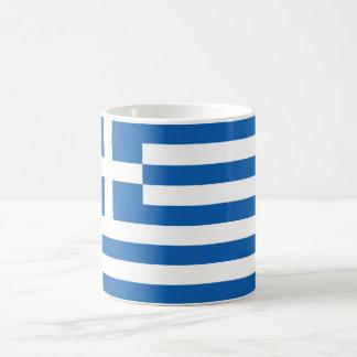 "Flag of Greece ""ΕΛΛΆΔΑ"" Classic White Coffee Mug"
