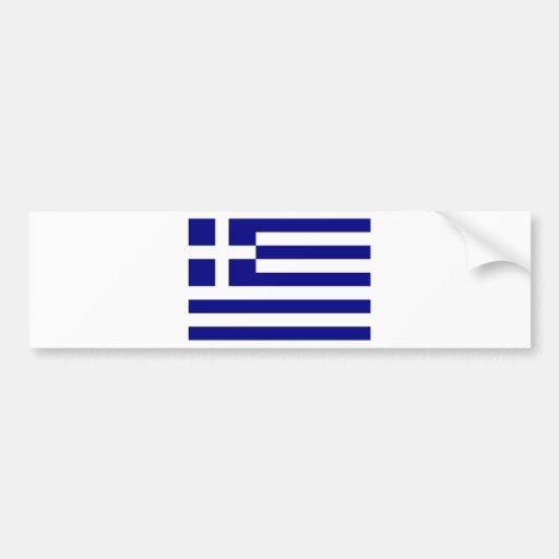 Flag of Greece Bumper Sticker
