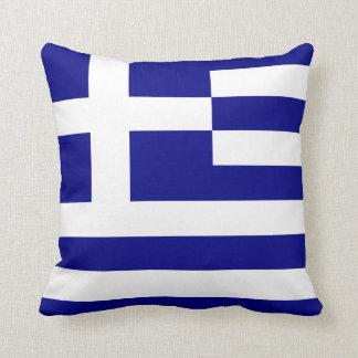 flag of greece cushion