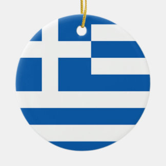 Flag of Greece, Greek Christmas Ornament