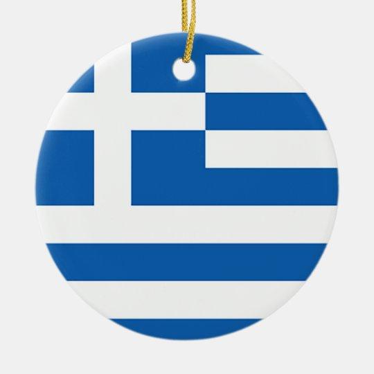 Flag of Greece, Greek Christmas Ornament