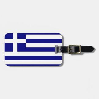 Flag of Greece Luggage Tag