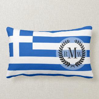 Flag of Greece Lumbar Cushion