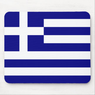 Flag of Greece Mouse Mat