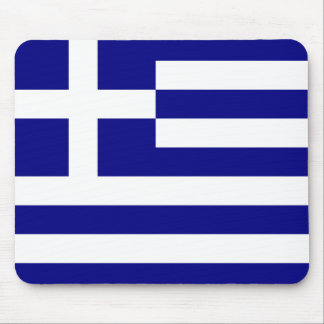 Flag of Greece Mouse Pad