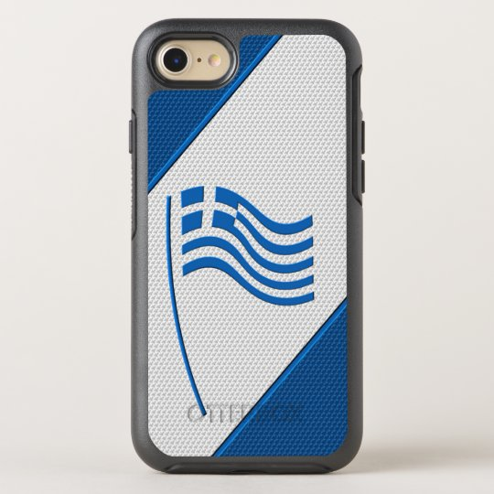 Flag of Greece OtterBox Symmetry iPhone 8/7 Case