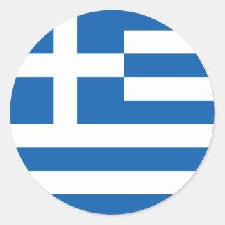 Flag of Greece Sticker (Circle)