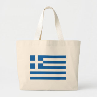 Flag of Greece Tote Bags