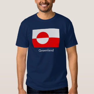 Flag of Greenland Tshirt