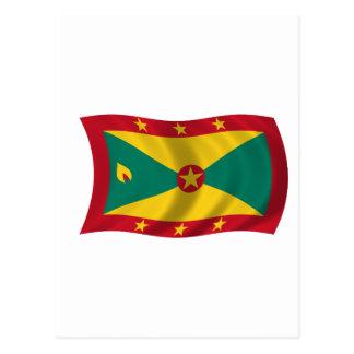 Flag of Grenada Post Cards