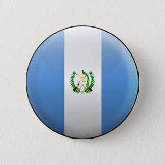 Flag of Guatemala 6 Cm Round Badge
