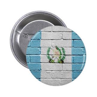 Flag of Guatemala 6 Cm Round Badge