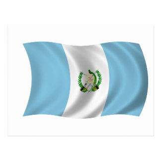 Flag of Guatemala Postcard