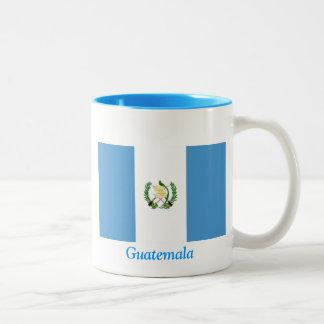 Flag of Guatemala Two-Tone Coffee Mug