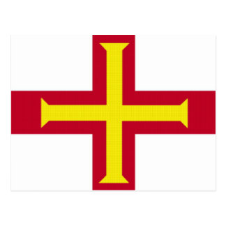 Flag of Guernsey Postcard
