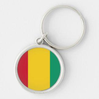 Flag of Guinea Key Chain