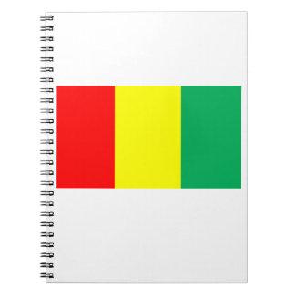 Flag of Guinea Notebooks