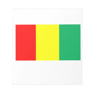 Flag of Guinea Notepads