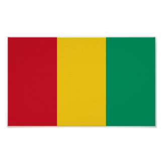 Flag of Guinea Poster