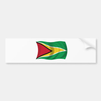Flag of Guyana Bumper Sticker