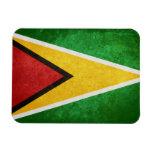 Flag of Guyana Rectangular Magnets