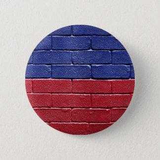 Flag of Haiti 6 Cm Round Badge