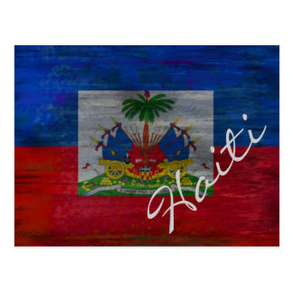 Flag of Haiti - Haitian Flag - Personalise Postcard