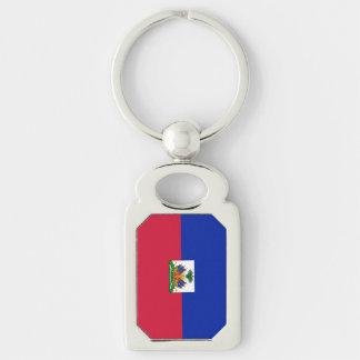 Flag of Haiti Key Ring