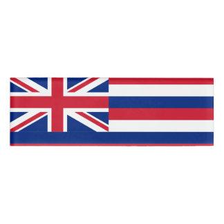 Flag of Hawaii Name Tag