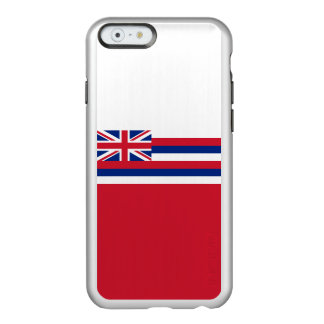 Flag of Hawaii Silver iPhone Case