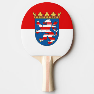 Flag of Hesse Ping Pong Paddle
