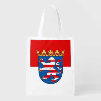 Flag of Hesse Reusable Grocery Bag