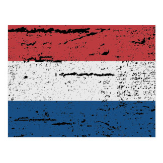 FLAG OF HOLLAND POSTCARD