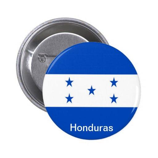 Flag of Honduras Pinback Buttons