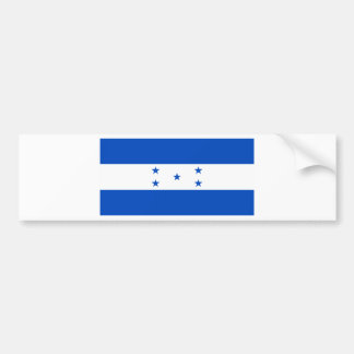 Flag of Honduras Bumper Sticker